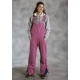 Roper Ladies Insulated Overalls - Pink