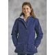 Roper Ladies Ranch Coat - Navy Paisley