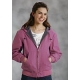 Roper Ladies Hooded Canvas Jacket - Pink