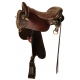 Tucker Endurance Trail Saddle - Tooled Design